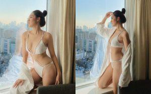 """Tường San diện bikini khoe body """"mướt mắt"""" tại Nhật Bản"""