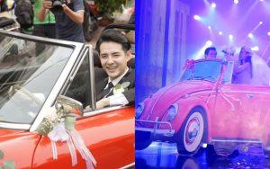 Góc ngỡ ngàng: Chiếc xe ô tô rước nàng dâu Đông Nhi đã được Ông Cao Thắng mang lên sân khấu từ… 5 năm trước?