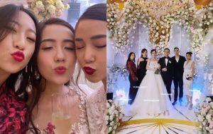 """Hội bạn thân Mie, Salim và Trang Olive không tránh khỏi """"lời nguyền"""": Đang yên lành, kiểu gì cũng có 1 đứa bỏ đi lấy chồng!"""