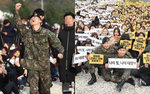 Cách ứng xử với giới truyền thông của Taeyang và Daesung ngày xuất ngũ