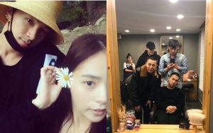 Xúc động cảnh BIGBANG đoàn tụ như gia đình: Taeyang gặp lại bà xã Min Hyo Rin, được G-Dragon và T.O.P đưa đi cắt tóc