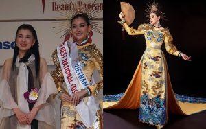 Á hậu Tường San xuất sắc giành giải Trang phục dân tộc đẹp nhất Miss International 2019