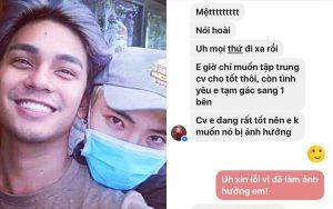 Sơn Ngọc Minh bất ngờ tung tin nhắn riêng tư với Erik, xác nhận từng yêu và bị bạn trai cũ lợi dụng để PR tên tuổi?