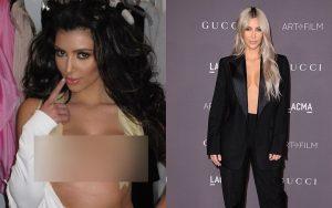 """Tiết lộ bí quyết diện những bộ cánh hở bạo, Kim Kardashian khiến netizen choáng váng vì cảnh """"xôi thịt"""" nhức mắt"""