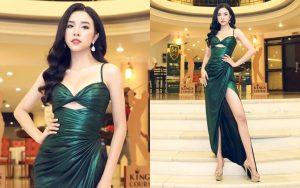 Đẹp mặn mà và thần thái đỉnh cao, Á hậu Thúy An sẵn sàng cho Miss Intercontinental