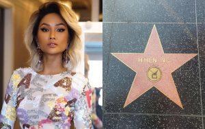Xôn xao hình ảnh tên H'Hen Niê được khắc sao trên Đại lộ Danh vọng, nhưng sự thật là gì?