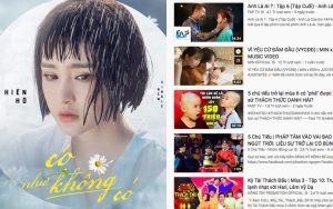 """Trong """"cơn bão"""" Việt Nam – Thái Lan vững vàng vô địch Trending, Hiền Hồ thẳng tiến top 3, """"Vì Yêu Cứ Đâm Đầu"""" vẫn trụ vững vị trí #7"""