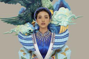 Á hậu Thúy An sẽ cùng đại bàng sải cánh đầy uy lực trong phần thi quốc phục tại Miss Intercontinental 2019