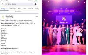 """""""Đắp đường xây ước mơ"""" lọt Top 10 dự án hay nhất Miss World 2019"""