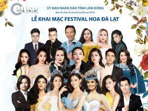 Dàn ca sĩ đình đám cùng các nàng hậu Việt Nam sẽ quy tụ tại festival Hoa Đà Lạt 2019