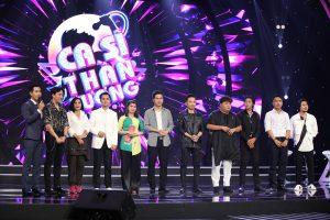 """Ca sĩ thần tượng: Bị MC Nguyên Khang """"gài hàng"""", đạo diễn Hoàng Nhật Nam và nghệ sĩ Trấn Thành """"chịu trói"""" trên sân khấu"""