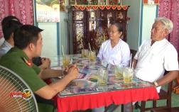 Chuyện về bà cụ nhặt được gần 400 triệu đồng trả lại cho người mất ở An Giang