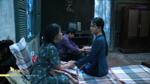 Mẹ ghẻ tập 15: Tình nghĩa chưa dứt, Diệu quay lại chăm sóc con của Phong