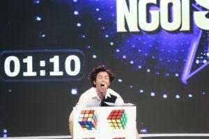Gương mặt đẹp trai của Lãnh Thanh, Nam Cường biến dạng khi chơi gameshow