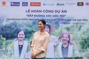 Dự án làm đường trên núi của Lương Thùy Linh chính thức hoàn thành