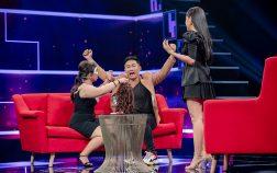 Vợ Thiên Vương MTV trổ tài makeup cho chồng trên sóng truyền hình