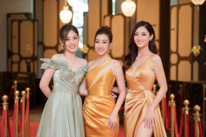 Song Linh diện đầm vàng gold sang chảnh, Á hậu Phương Nga khoe sắc ngọt ngào
