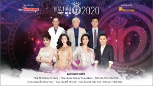 Lộ diện 7 giám khảo của Hoa hậu Việt Nam 2020