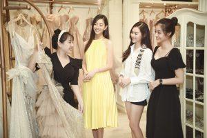 Dàn hậu thử váy cưới bán đấu giá cho đêm nhạc gây quỹ vì Đà Nẵng
