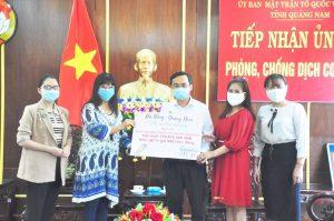 Hiện kim và hiện vật trong chiến dịch của đạo diễn Hoàng Nhật Nam đã được gửi đến Đà Nẵng – Quảng Nam