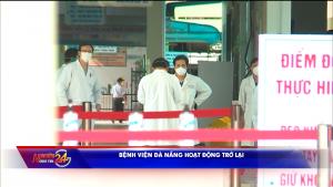Bệnh viện Đà Nẵng hoạt động trở lại
