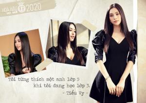 """Hoa hậu Tiểu Vy tiết lộ có """"Crush"""" năm lớp 3"""