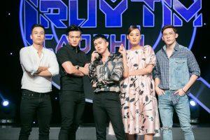 """MC Minh Xù trở nên """"nhỏ bé"""" trước 4 siêu mẫu: Minh Trung, Cao Xuân Tài, Lê Thúy, Xuân Tiền"""