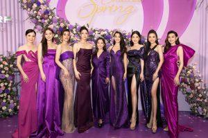 """Hoa hậu Tiểu Vy cùng các nàng hậu đọ dáng """"một chín một mười"""" tại sự kiện"""