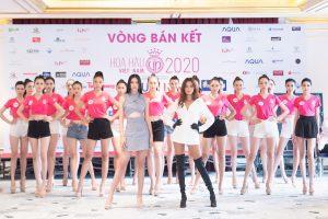 Thần thái ngút ngàn – Hoa hậu Tiểu Vy, Siêu mẫu Như Vân catwalk cùng dàn thí sinh Hoa hậu Việt Nam 2020