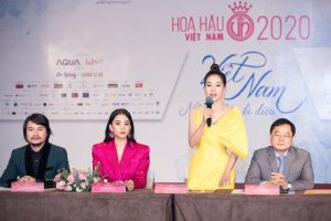 Họp báo Bán kết toàn quốc Hoa hậu Việt Nam 2020 – Thập kỷ hương sắc