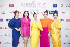 Dàn sao Việt khoe sắc rực rỡ tại họp báo Bán kết toàn quốc Hoa Hậu Việt Nam 2020