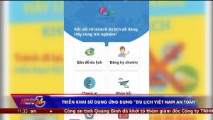 """Triển khai sử dụng ứng dụng """"Du lịch Việt Nam an toàn"""""""