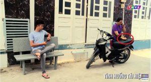 Chiêu trộm xe máy đầy ma mãnh của người hàng xóm