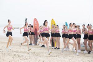 35 thí sinh HHVN đầy khỏe khoắn, năng động thi đấu Người đẹp Thể thao tại Vũng Tàu