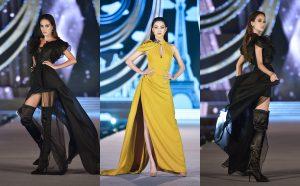 """Hoa hậu Lương Thùy Linh """"kết sổ"""" đêm thi Người đẹp thời trang với màn catwalk không thể đỉnh hơn"""