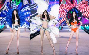 """""""Bỏng mắt"""" với Top 35 HHVN 2020 diện bikini kết hợp phong cách carnival trên sàn runway ngoài trời Người đẹp Biển"""