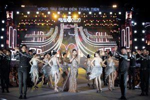 Lệ Quyên, Quang Dũng cháy hết mình trên sân khấu Người đẹp Thời trang tại Vũng Tàu
