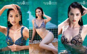 """Top 35 Hoa Hậu Việt Nam 2020 gợi cảm """"hết nấc"""" trong bộ ảnh profile bikini"""