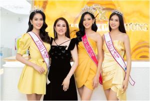 Top 3 Hoa hậu Việt Nam 2020 đến Bệnh viện thẩm mỹ Xuân Hương chăm sóc sắc đẹp sau đăng quang
