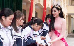 Hoa Hậu Việt Nam 2020 Đỗ Hà và quỹ học bổng Đỗ Hà dành cho học sinh nghèo hiếu học