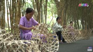 Thăm làng nghề đan giỏ trạc tại Xuân Thới Sơn