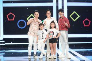 Lâm Thắng & Tăng Phúc thi nhảy lò cò với 2 tài năng nhí