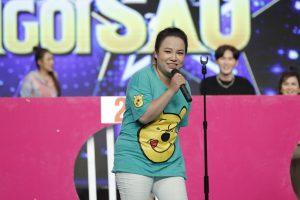 Diễn viên Lê Trang liên tục nhận hình phạt hít đất khi chơi gameshow