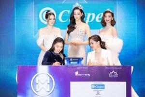 Casper tiếp tục là nhà tài trợ kim cương Miss World Vietnam 2021