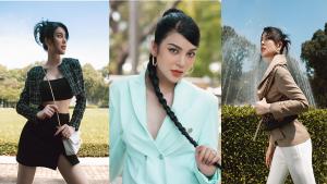 """""""Ngọc nữ bolero"""" Lily Chen khoe thần thái chuẩn fashionista với phong cách menswear"""