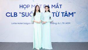 """Lương Thuỳ Linh, Đỗ Hà- 2 Hoa Hậu thế hệ GenZ cùng nhau trở thành chủ tịch nhỏ tuổi nhất của CLB từ thiện """"Suối mát từ tâm"""""""
