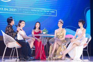 Lương Thuỳ Linh – Kiều Loan làm BGK cuộc thi Miss & Mister ĐH Tôn Đức Thắng