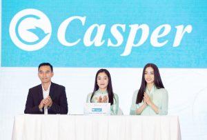 Đại sứ thương hiệu Casper – Miss World Vietnam Lương Thuỳ Linh trao tặng hàng chục chiếc TV Casper cho công nhân có hoàn cảnh khó khăn