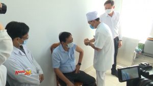 Triển khai tiêm vắc xin Covid-19 đợt đầu tại Cà Mau
