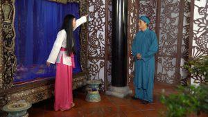"""Nghiệp sinh tử P2 Tập 43: Hòa Hiệp lo sợ mối quan hệ giữa anh và """" Chị dâu"""" Quỳnh Lam bị phát hiện."""